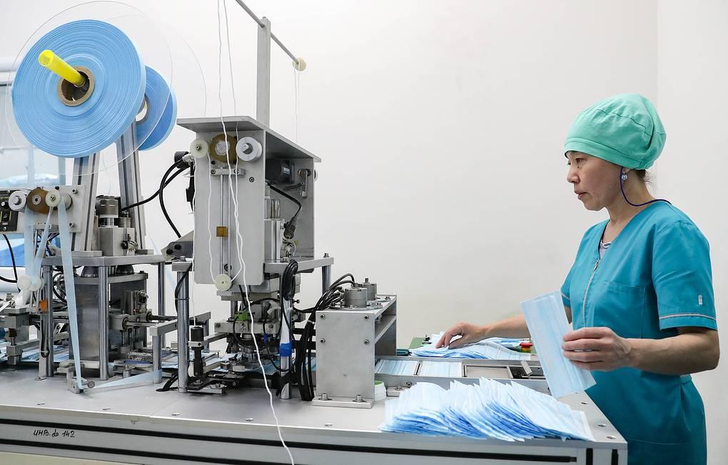 В Свердловской области запустили производство сырья для масок