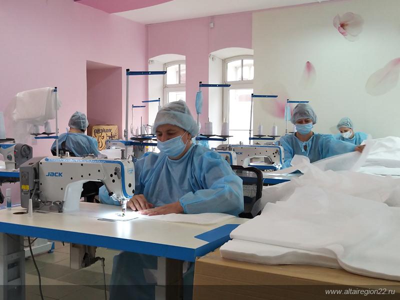 На Алтае лазерное производство переформировали для выпуска СИЗ
