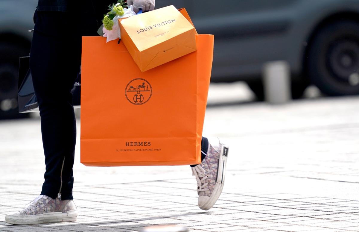 Бренды Hermes и LVMH сообщили об увеличении продаж