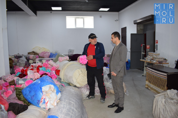 Текстильные предприятия Дагестана выходят на новый уровень