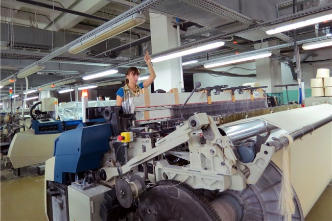 Производство текстиля в Ивановской области увеличилось