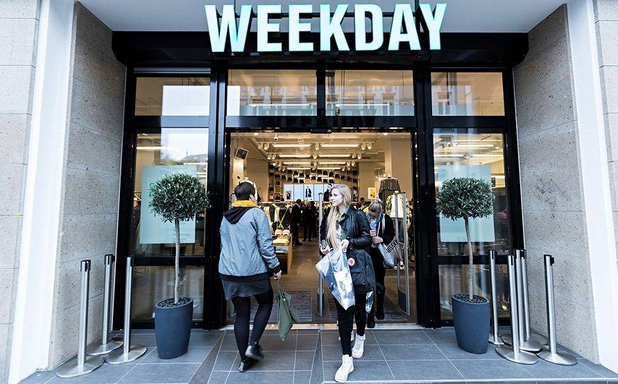 Шведский бренд Weekday запустил онлайн-магазин для покупателей из России