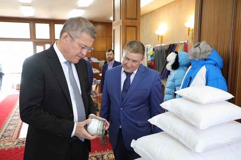 Башкирский легпром заинтересован в активном сотрудничестве с молдавскими предприятиями