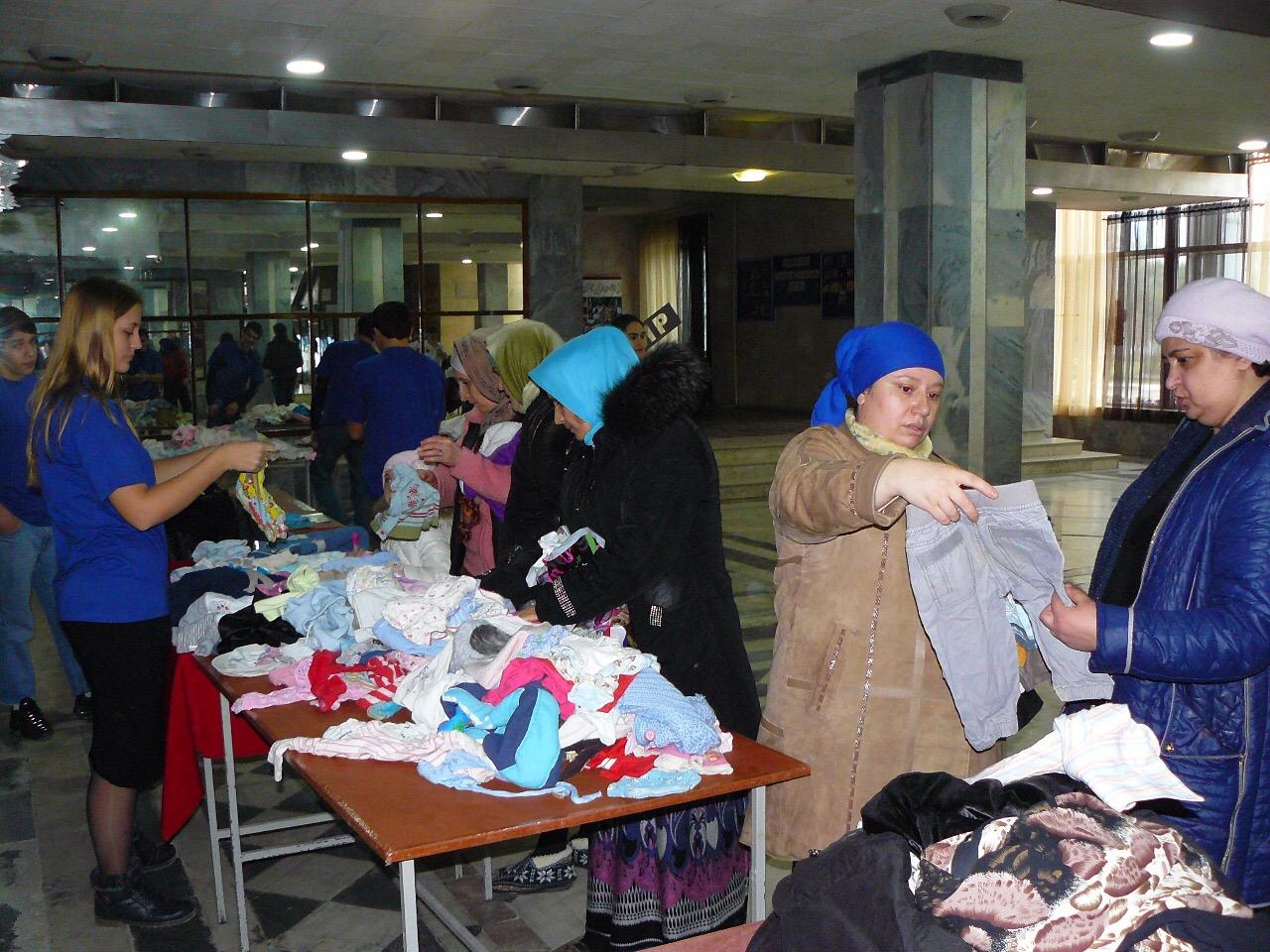 В Кизляре пройдет акция «Одежда нуждающимся»