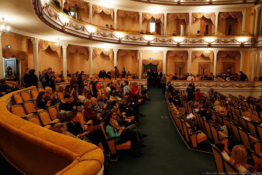 Калининградский Драмтеатр готов заплатить 7,6 млн рублей за обновление текстиля в зрительном зале