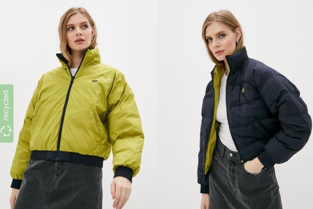 Lamoda совместно с брендом Levi's отметили в каталоге одежду из переработанных материалов