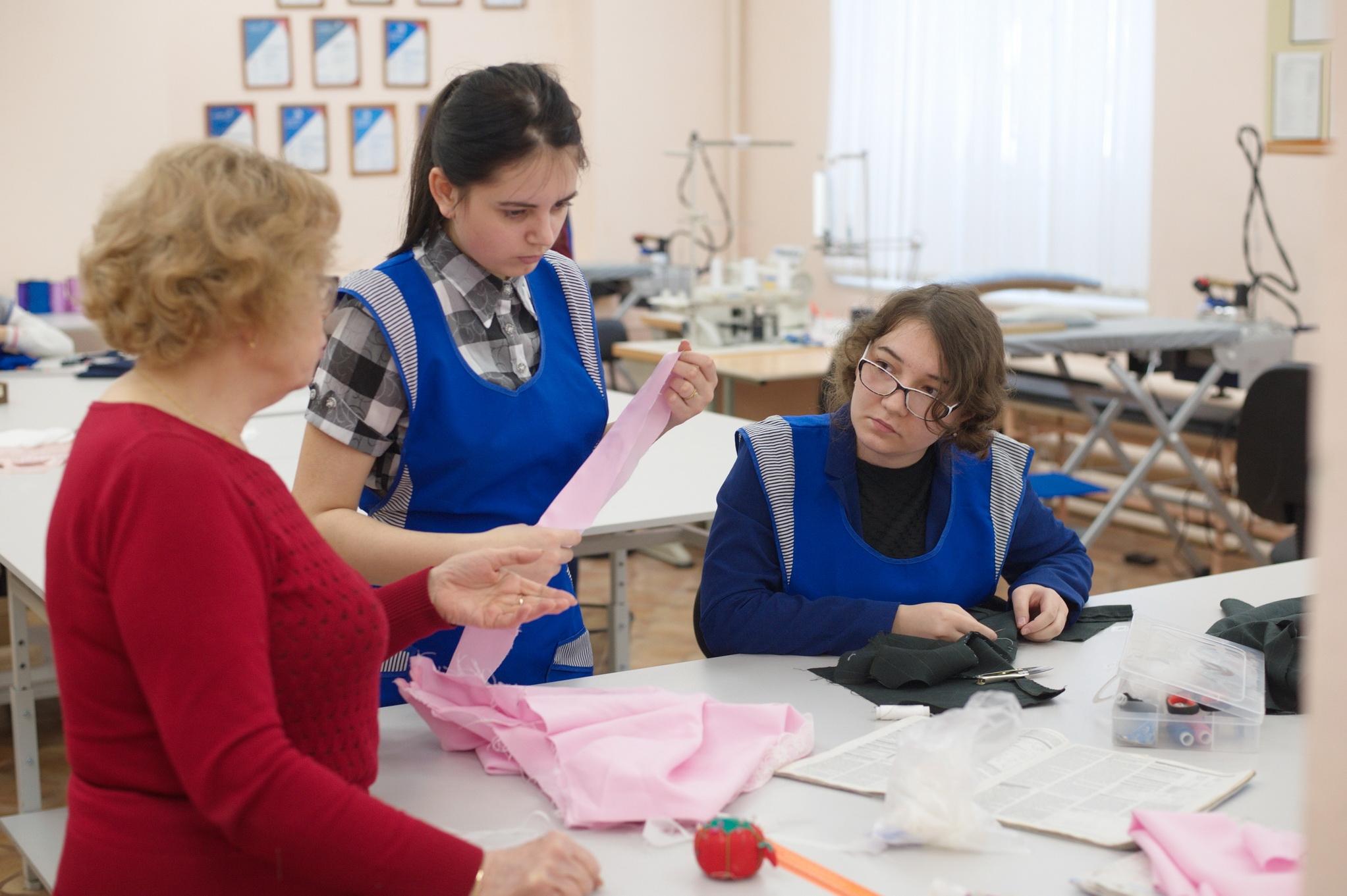 В Ивановской области выбрали лучшую швею