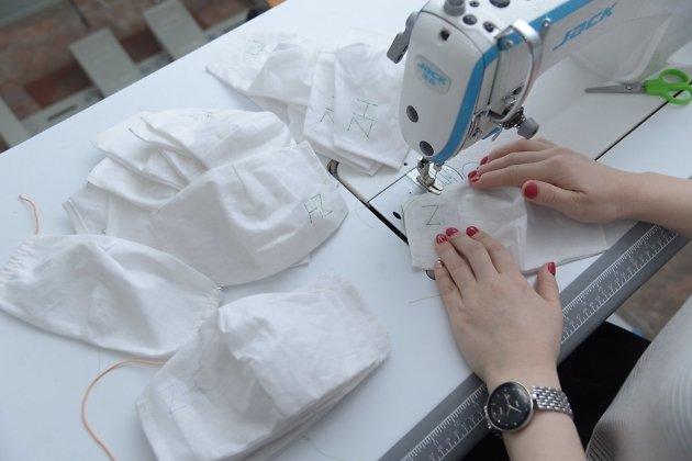 Жительницу Забайкалья наградили за пошив масок