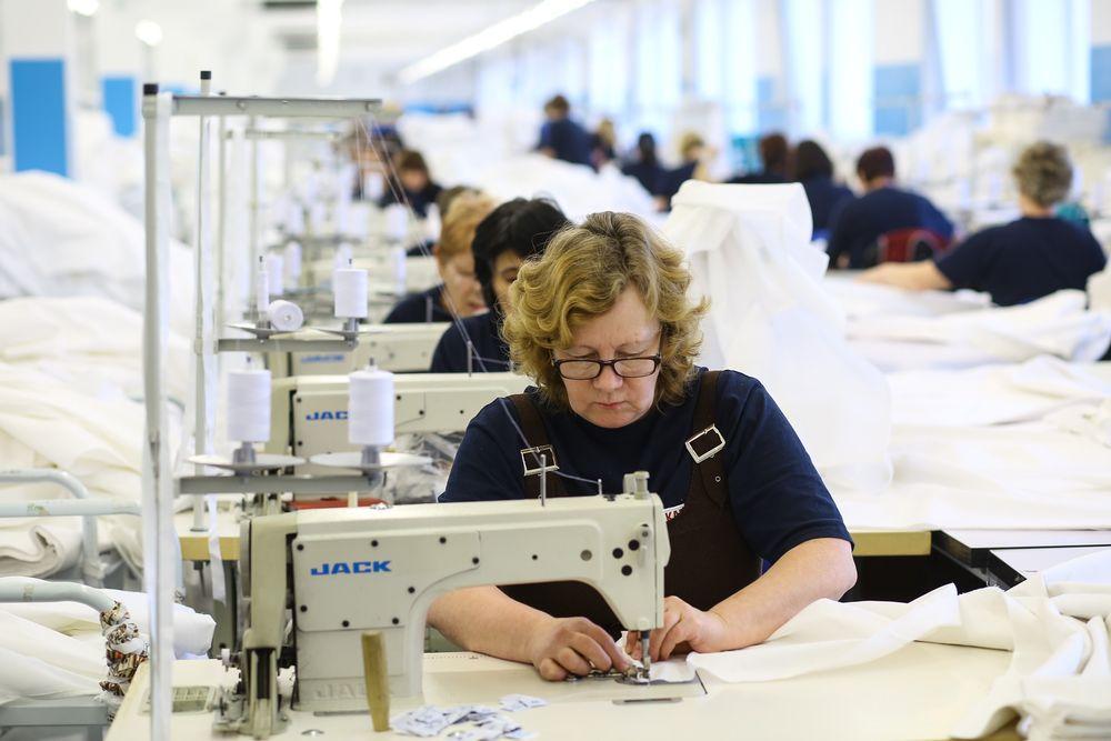 В Ленинградской области увеличилось производство текстильных изделий