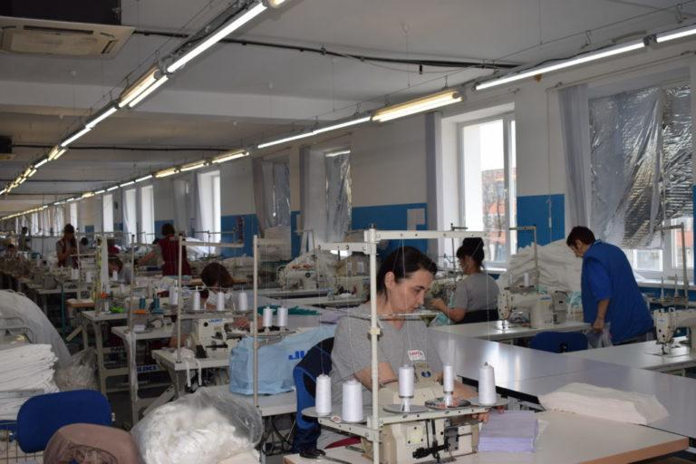 Волгоградские предприятия нарастили производство средств индивидуальной защиты