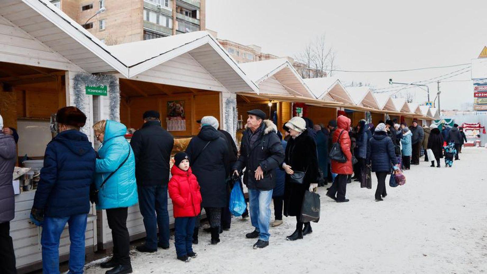 В Подмосковье за выходные состоялось почти 60 ярмарок