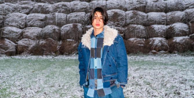Ksenia Schnaider совместно с брендом DevoHome выпустили коллекцию одежды