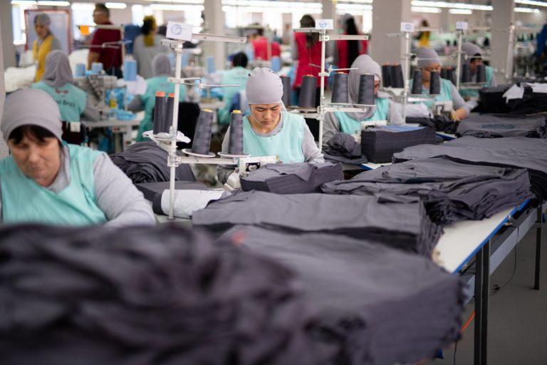 Экспорт текстиля в Кыргызстане уменьшился вдвое