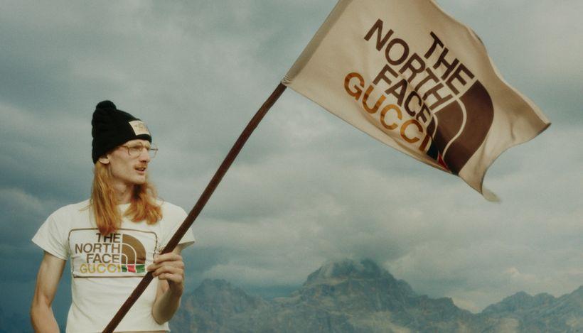 Gucci и The North Face представят совместную коллекцию