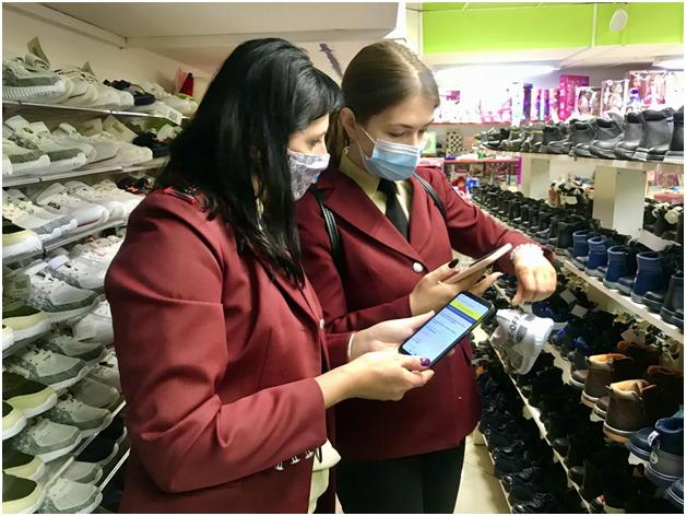 Роспотребнадзор Пензенской области выявил факт реализации немаркированной обуви