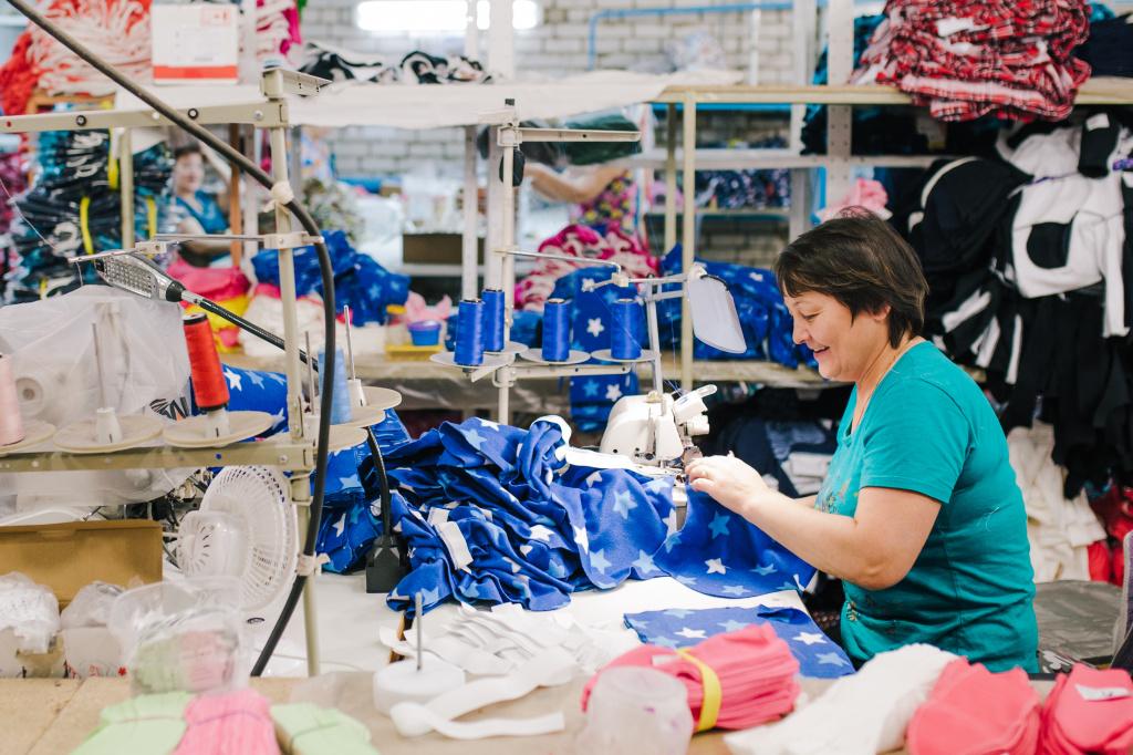 Производство текстильных изделий вошло в Топ-3 отраслей креативных индустрий Курской области