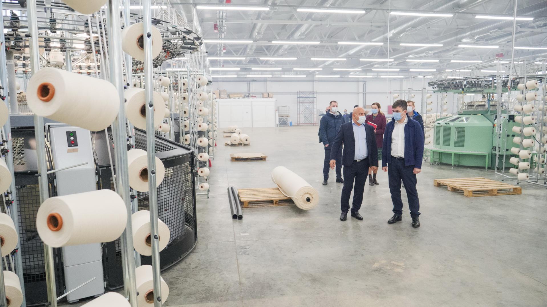 Компания «МИРтекс» строит в Фурманове новый производственный участок