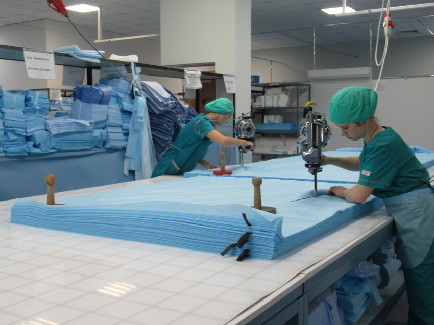 В Зеленодольске запустят производство одноразовой медицинской одежды