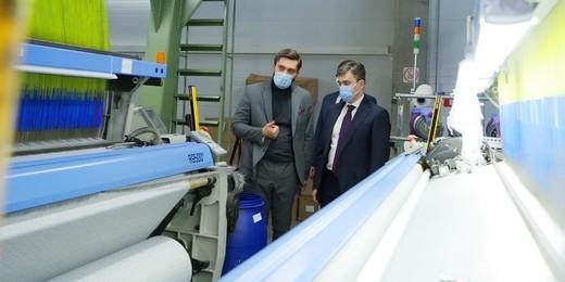 На ивановском предприятии «Стеллини.ру» установили современное ткацкое и сушильное оборудование