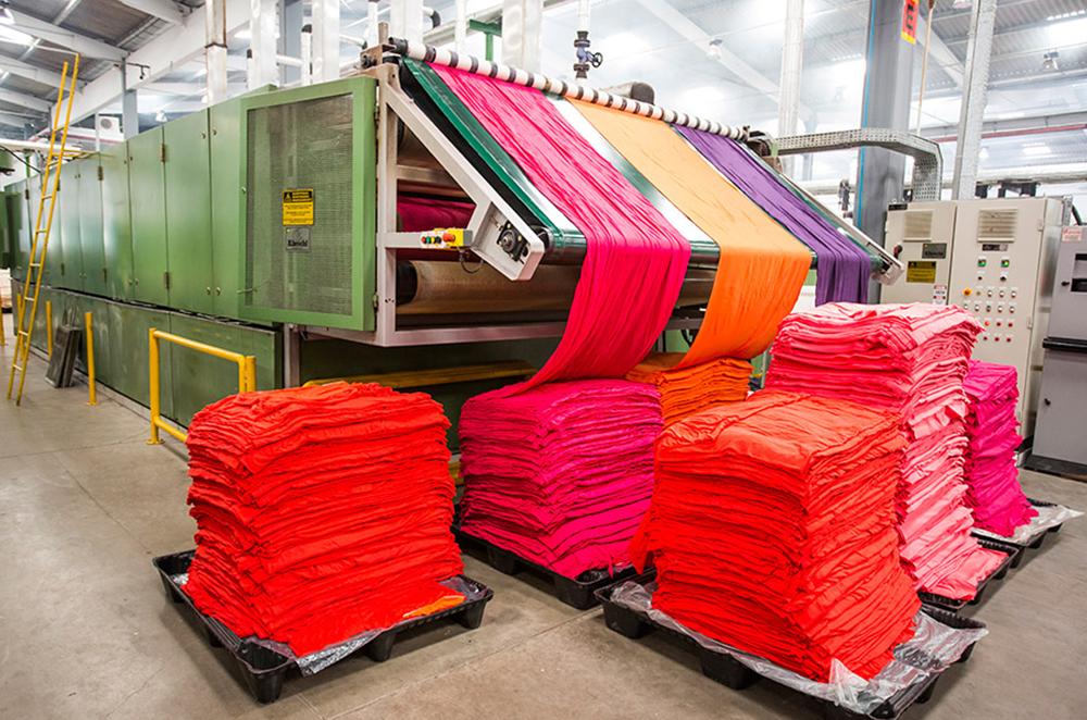 Производство текстильных изделий в России выросло на 11% по сравнению с прошлым годом