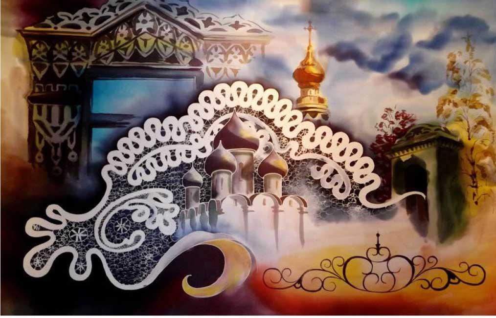 В Твери проходит выставка художественного текстиля «Шелковый ветер»