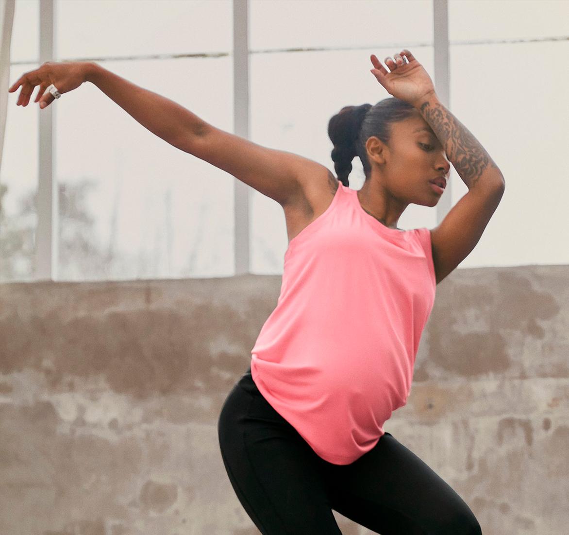 Adidas Originals выпустил коллекцию спортивной одежды для беременных