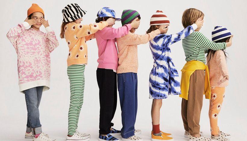 Бренд Arket запустил новую услугу по аренде детской одежды
