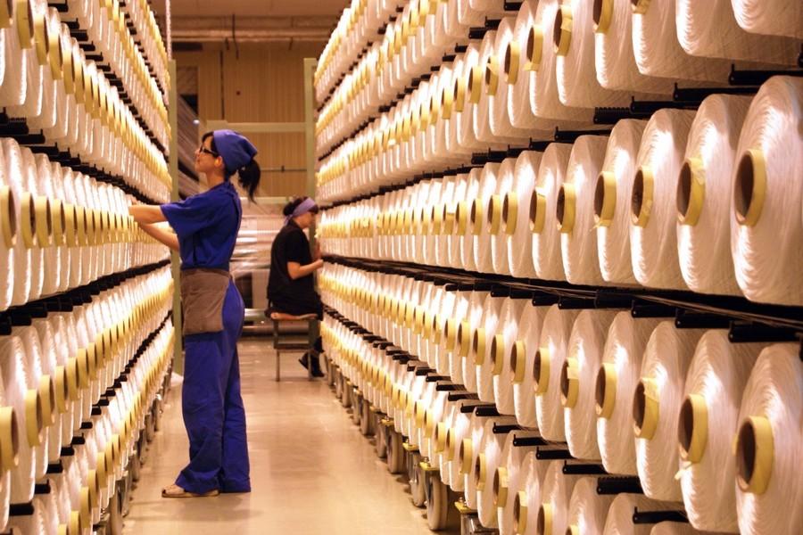 В Белоруссии планируют увеличить объемы производства полиэфирных тканей