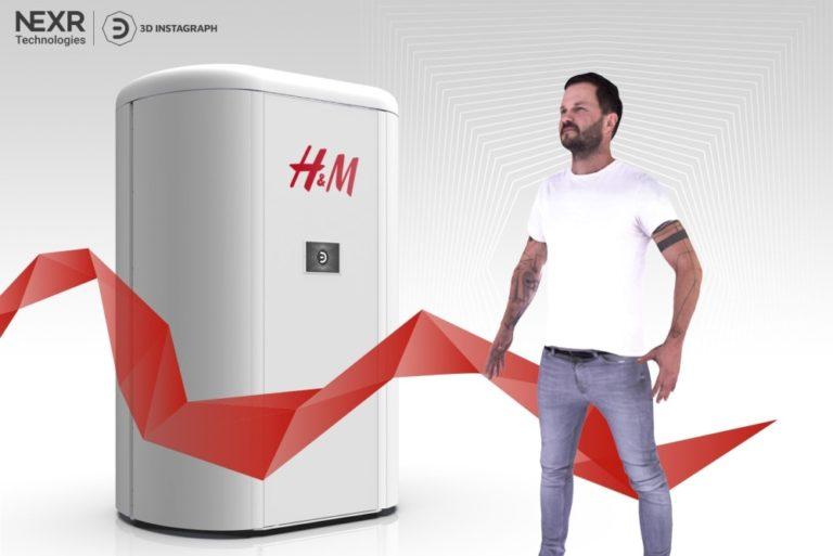 Бренд H&M и компания NeXR Technologies разрабатывают виртуальную примерочную