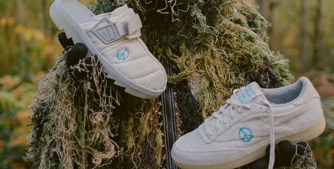 Reebok выпустил обувь из смесового льна