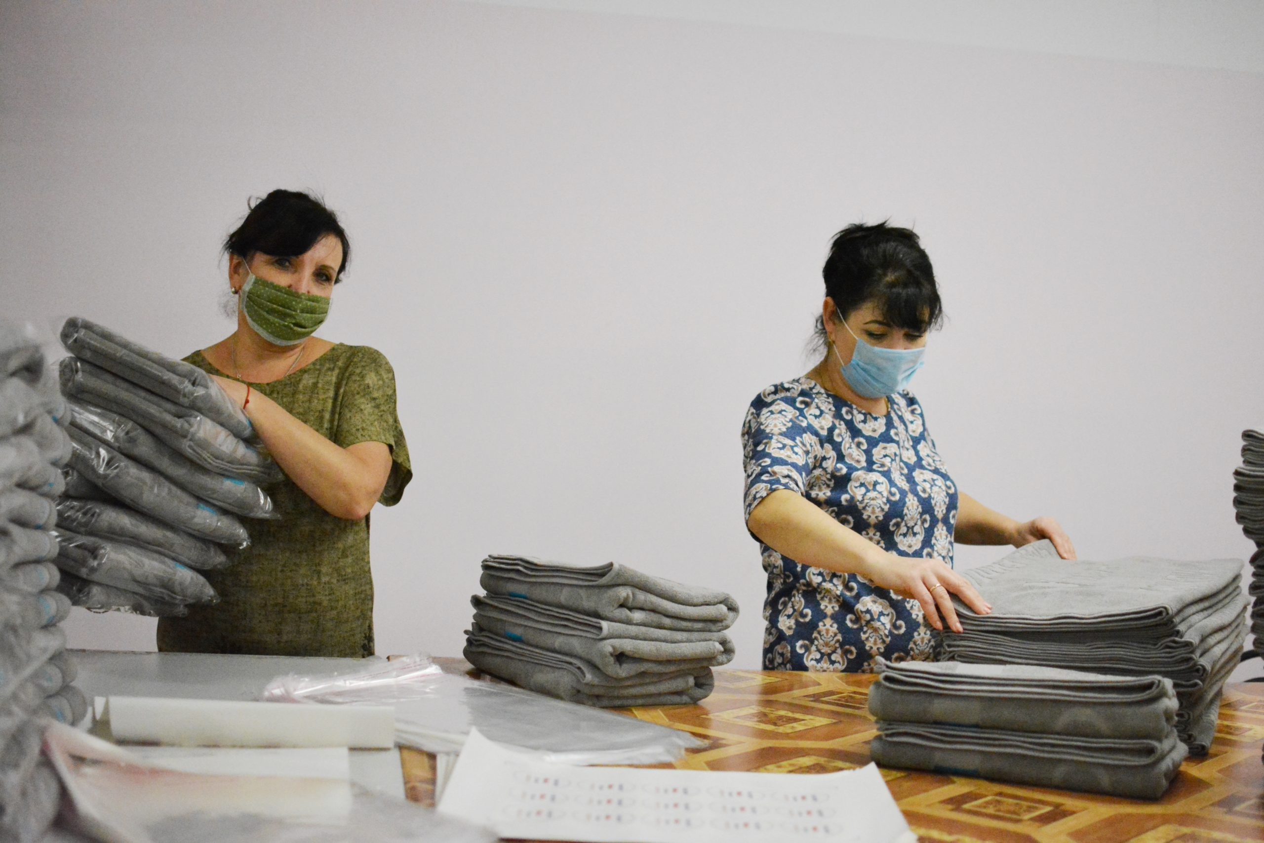 Предприятие «Родники-текстиль» выпустило огнестойкую ткань, не требующую пропитки