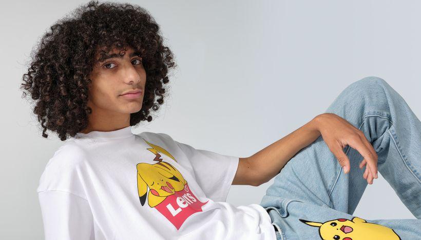 Levi's представил коллаборацию с Pokemon
