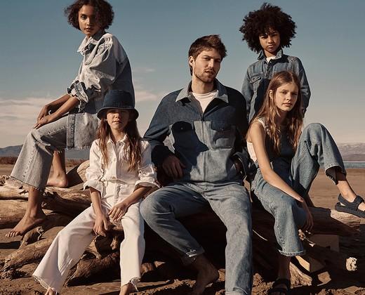 Компания Mango представила коллекцию экологичных джинсовых изделий
