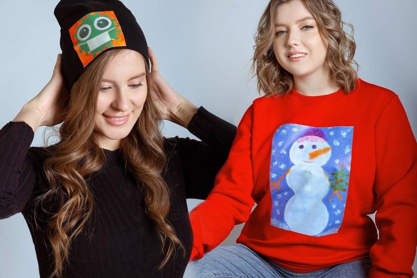 Дизайнеры создадут коллекцию одежды с рисунками детей-сирот
