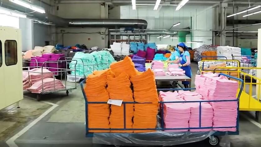 Пандемия коронавируса негативно повлияла на производство полотенец в Ростовской области