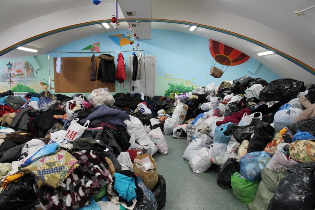 В Тюмени организовали сбор весенней одежды