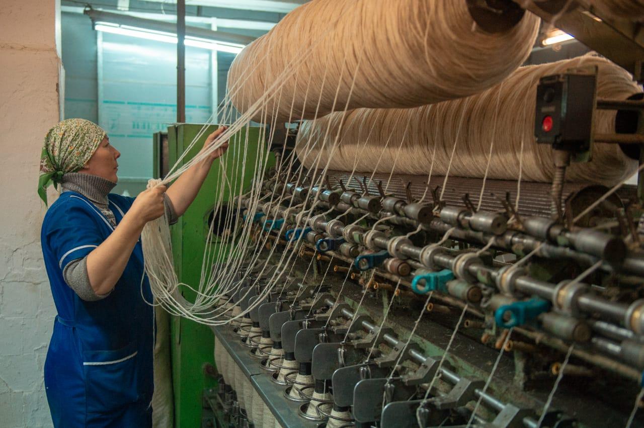 В Кызыле появится новая фабрика шерстяных изделий