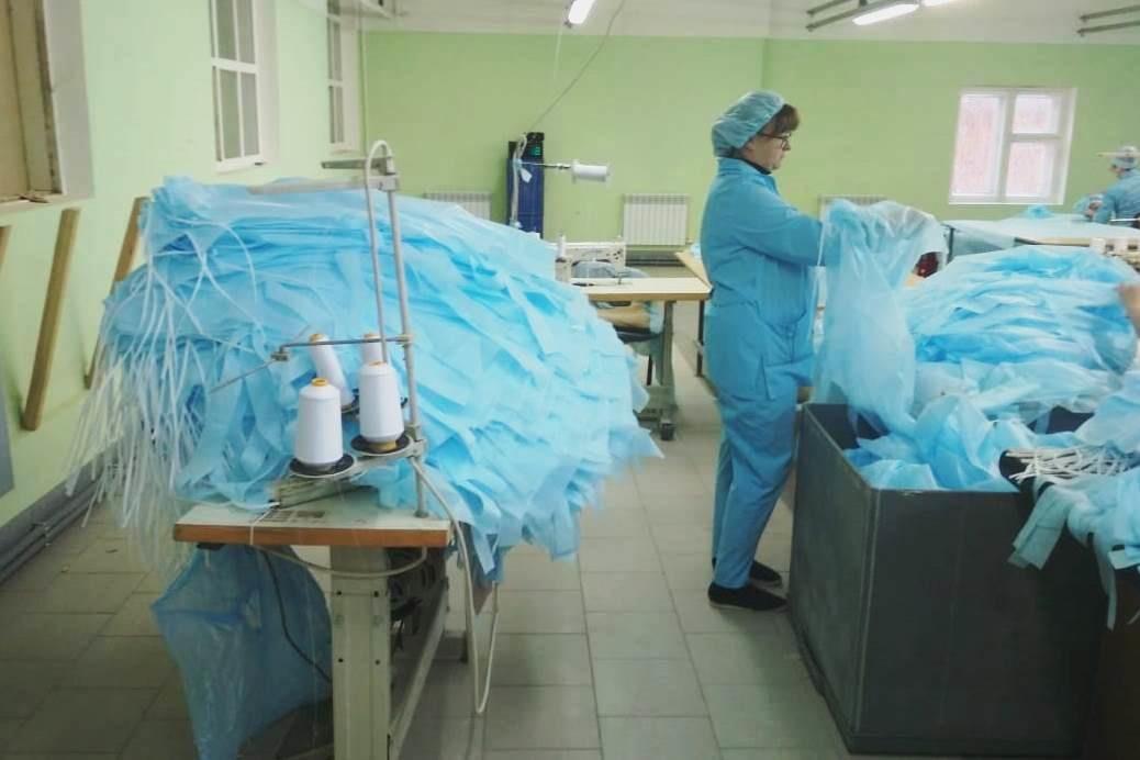 Ярославский производитель защитных медицинских изделий увеличил производство в десять раз