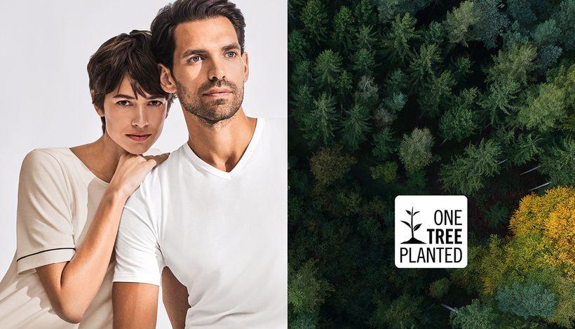 Бренд Hanro посадит дерево за каждый купленный товар