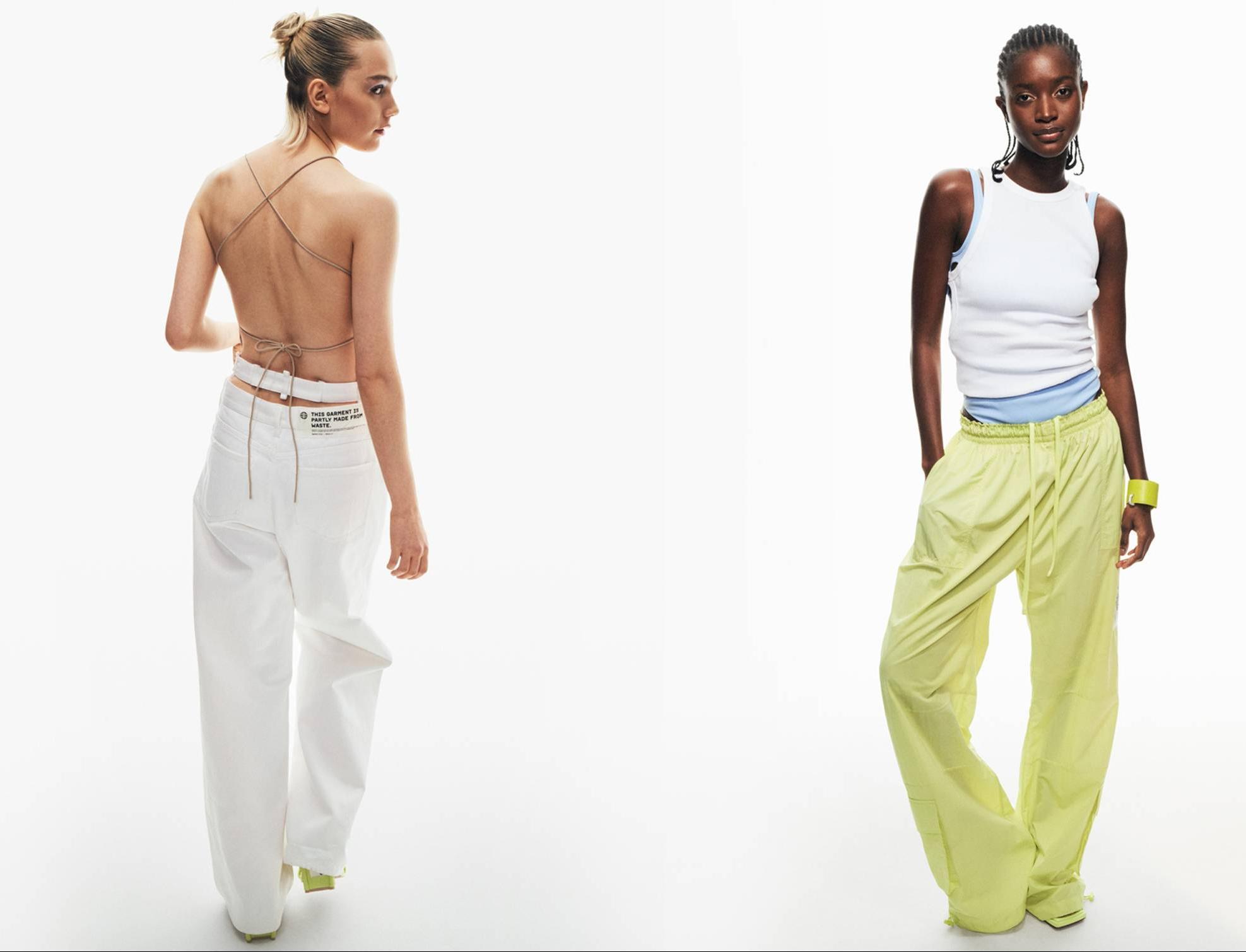 Компания H&M представила коллекцию одежды из кожи кактуса и из пряжи на касторовом масле