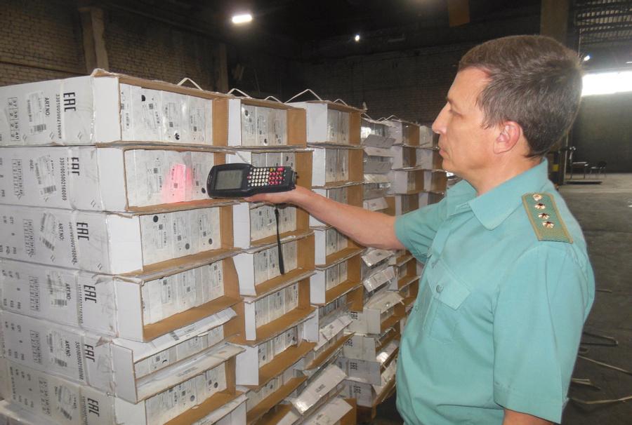 За февраль 2021 года Московская таможня оформила 4,6 млн пар маркированной обуви