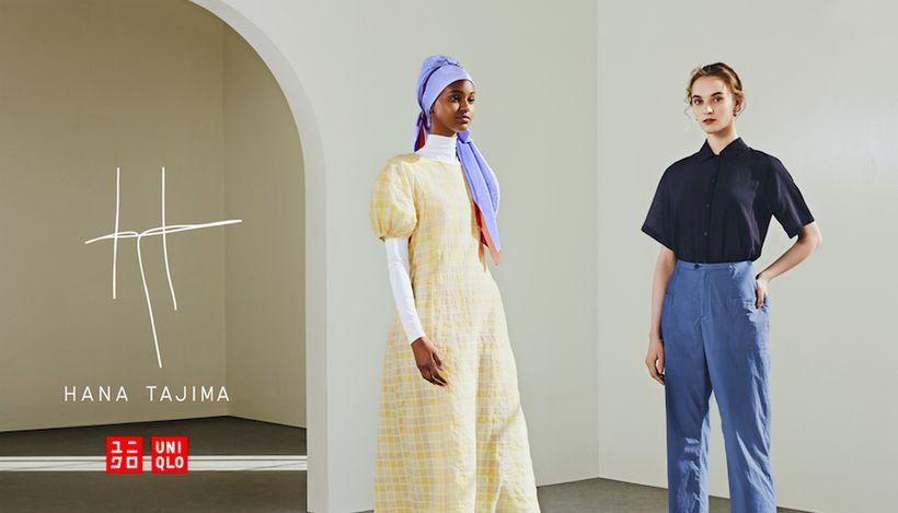 Uniqlo совместно с британским дизайнером Ханой Тадзима выпустили коллекцию одежды