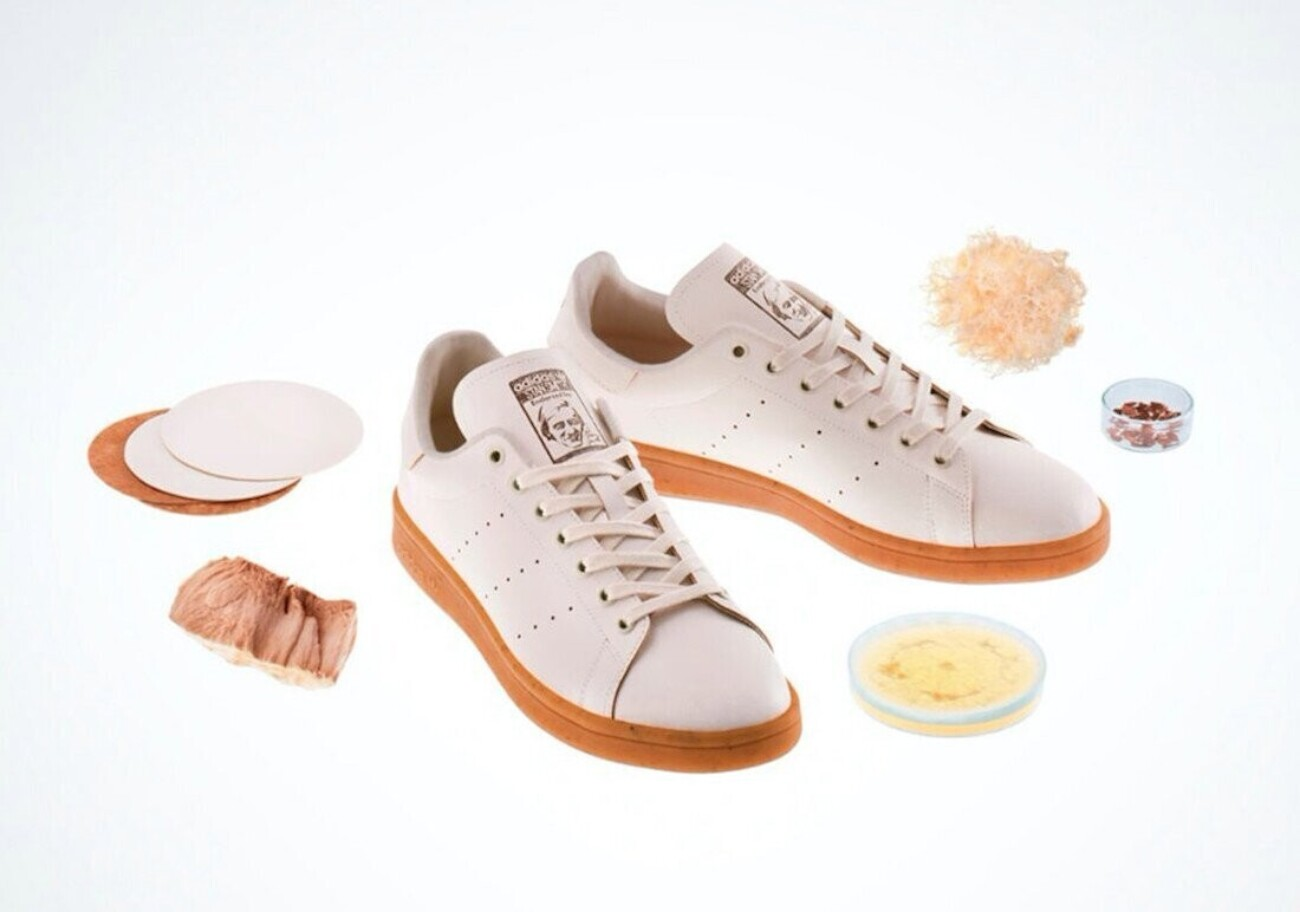 Adidas представил кроссовки из грибной кожи