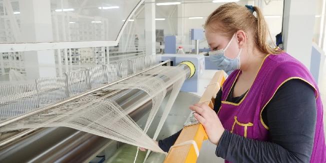 В Ивановской области увеличилось производство тканей