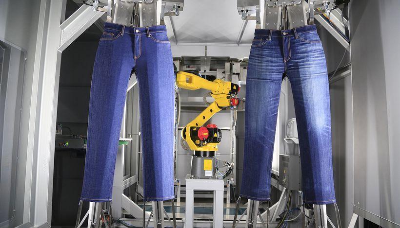 В Испании представили улучшенную технологию производства джинсов