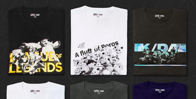 Uniqlo представил коллекцию одежды по мотивам игры League of Legends