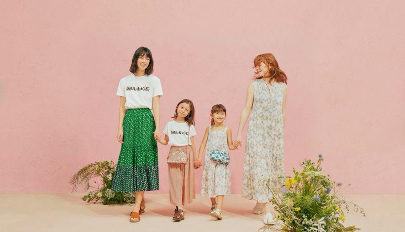 Uniqlo и парижский бренд Paul&Joe представили коллекцию одежды