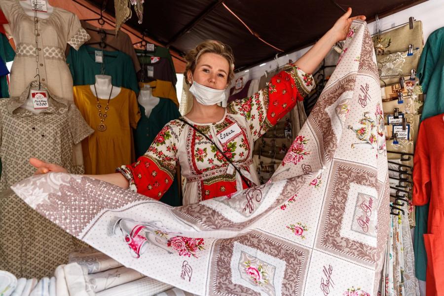 В Екатеринбурге начала работать ярмарка легкой промышленности