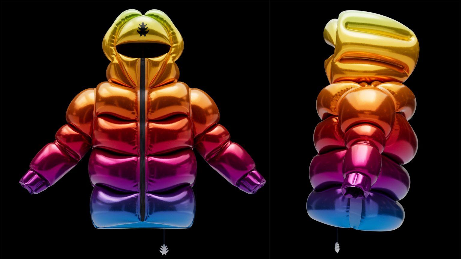 Итальянский дизайнер создал куртку с гелием вместо пуха