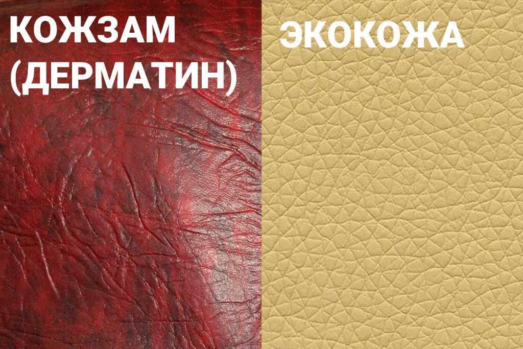 Отличия экокожи от искусственной и натуральной кожи